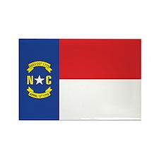 NORTH-CAROLINA-FLAG Rectangle Magnet