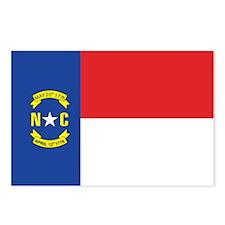 NORTH-CAROLINA-FLAG Postcards (Package of 8)