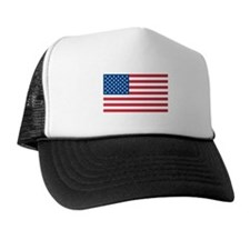 AMERICAN-FLAG Trucker Hat