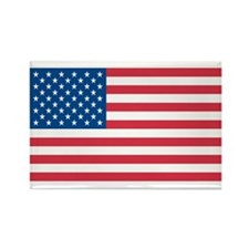 AMERICAN-FLAG Rectangle Magnet