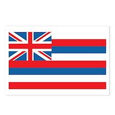 HAWAII-FLAG Postcards (Package of 8)
