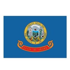 IDAHO-FLAG Postcards (Package of 8)