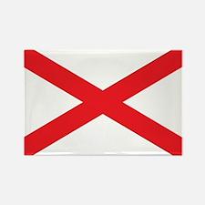 ALABAMA-FLAG Rectangle Magnet