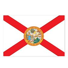 FLORIDA-FLAG Postcards (Package of 8)
