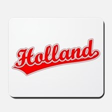 Retro Holland (Red) Mousepad