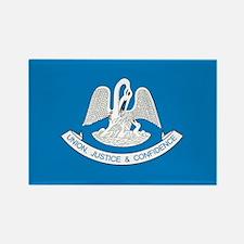 LOUISIANA-FLAG Rectangle Magnet