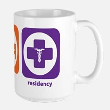 Eat Sleep Residency Mug