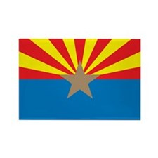 ARIZONA-FLAG Rectangle Magnet
