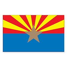 ARIZONA-FLAG Rectangle Decal