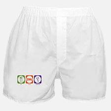 Eat Sleep Research Boxer Shorts