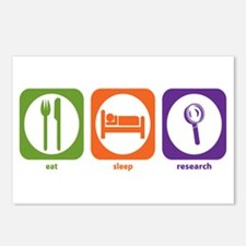 Eat Sleep Research Postcards (Package of 8)