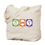 Eat sleep research Canvas Totes