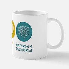 Peace Love Materials Engineering Small Small Mug