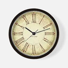 Unique Roman numeral Wall Clock