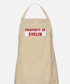 Property of EVELIN BBQ Apron