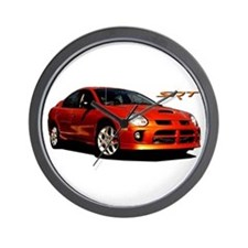 Orange SRT-4 Wall Clock