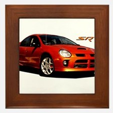 Cool Dodge caliber srt 4 Framed Tile