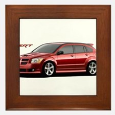 Funny Dodge caliber srt 4 Framed Tile