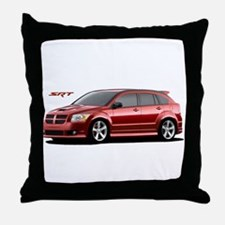 Cool Dodge neon Throw Pillow