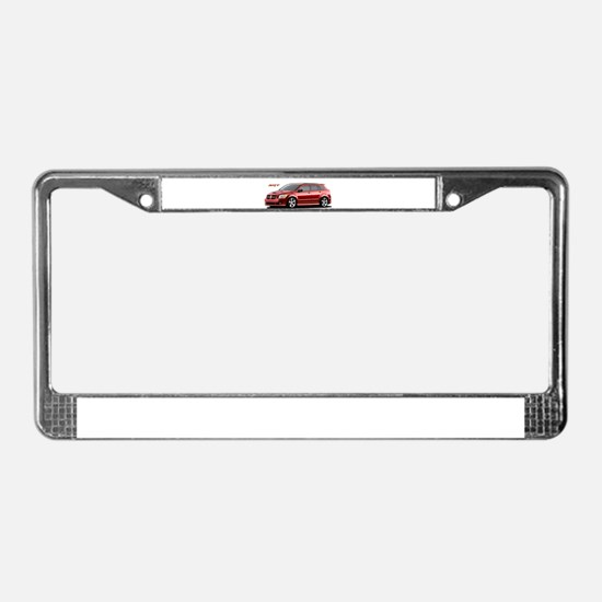 Cute Dodge neon License Plate Frame