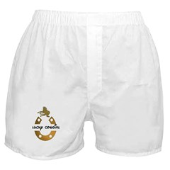 LUCKY COWGIRL HORSESHOE Boxer Shorts