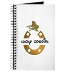 LUCKY COWGIRL HORSESHOE Journal
