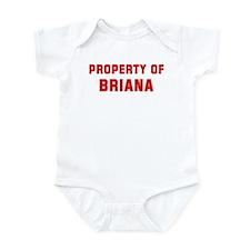 Property of BRIANA Infant Bodysuit
