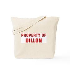Property of DILLON Tote Bag