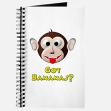 Got Bananas? Silly Monkey Journal
