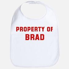 Property of BRAD Bib