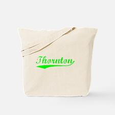 Vintage Thornton (Green) Tote Bag