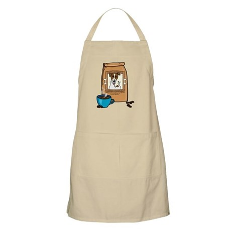 Jack Russell Coffee BBQ Apron