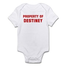 Property of DESTINEY Infant Bodysuit