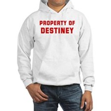 Property of DESTINEY Hoodie Sweatshirt