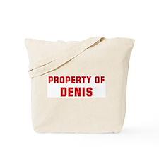 Property of DENIS Tote Bag