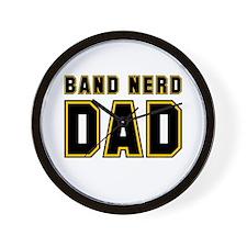 Band Nerd Dad Wall Clock