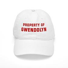 Property of GWENDOLYN Baseball Cap