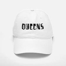 Queens Faded (Black) Baseball Baseball Cap