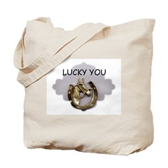 COWGIRL UP /LOVE HORSES Tote Bag