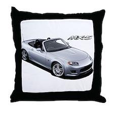 Cool Miata na Throw Pillow