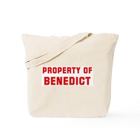 Property of BENEDICT Tote Bag