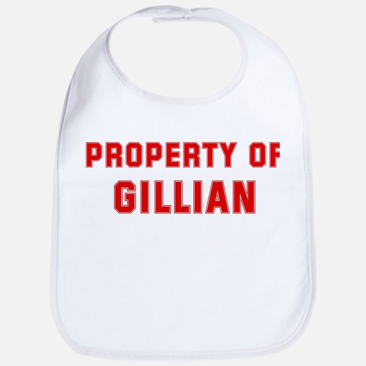 Property of GILLIAN Bib
