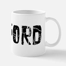 Radford Faded (Black) Mug