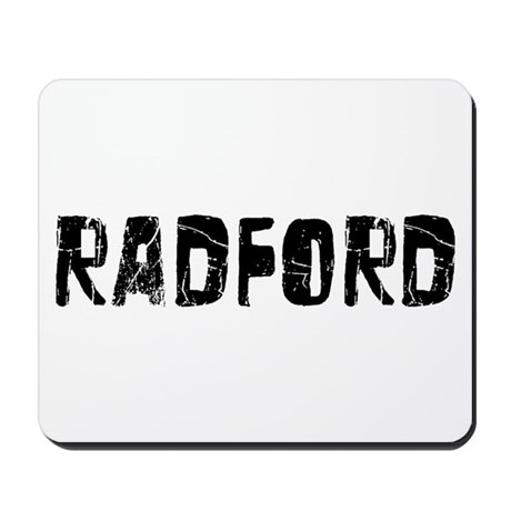 Radford Faded (Black) Mousepad