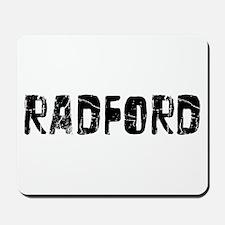 Radford Faded (Black) Mousepad