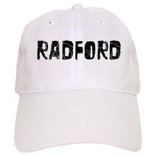 Radford Faded (Black) Baseball Baseball Cap