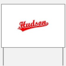 Retro Hudson (Red) Yard Sign