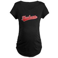 Retro Hudson (Red) T-Shirt