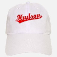 Retro Hudson (Red) Baseball Baseball Cap