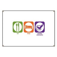 Eat Sleep Quality Assurance Banner